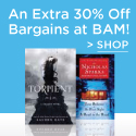30% Off All Bargain Books