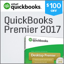 QuickBooks Premier 2017 Software Enjoy $100 off! Save Time and Get Organized!
