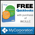 FREE QuickBooks Simple Start with your LLC or Inc