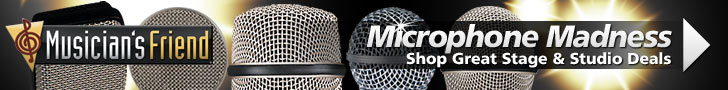 Microphone Madness at MusiciansFriend.com