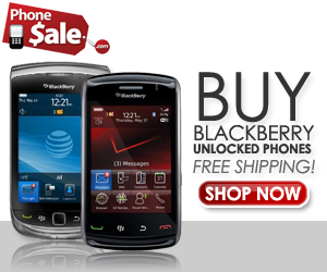 Buy Unlocked Blackberry Phones Today!