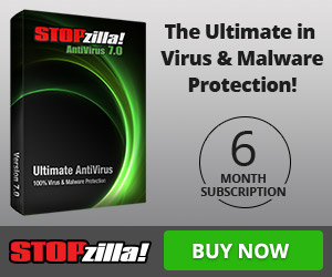 Affiliate Exclusive Product! Get Protected with STOPzilla AntiVirus 6-month Subscription for $24.95!