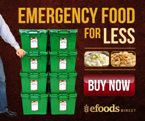 1 Year Emergency Food Supply from eFoodsDirect