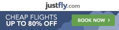 Find cheap flights and save at JustFly