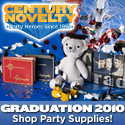 Graduation Party Supplies at Century Novelty
