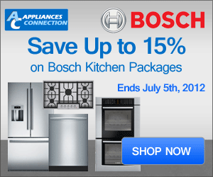 Save Up To 15% On Bosch Kitchen Packages