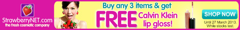 Order Three Items and Receive a Free Gift at StrawberryNET!