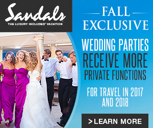 Exclusive Wedding Offer At Sandals Resorts