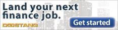 Land your next finance job. Get started.