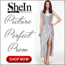 Have a picture perfect prom with your dress from Sheinside.com