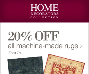 Click Here to SAVE 20% Off ALL Machine Made Rugs at Home Decorators Collection and Support The Garden Oracle with Your Purchases!  Hurry, Ends 7/4/16!