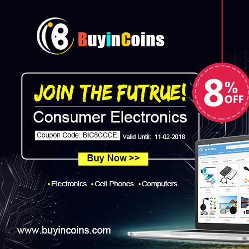 Step into the future with all Consumer Electronics 8% OFF!