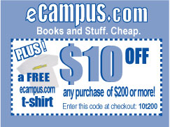 Save on Textbooks at eCampus.com!