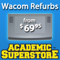 Wacom Refurbs On Sale at Academic Superstore