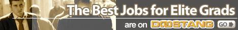 The best jobs for elite graduates are on Doostang.