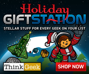 ThinkGeek Holiday Gift Station