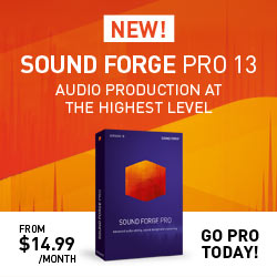 SOUND FORGE Pro 365   250x250