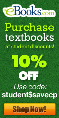 Student Discount 10% Off Promotion 120x240