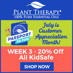 Get 20% Off ALL Kidsafe Products and Oils + FREE Gift with Your $25+ Purchase at Plant Therapy!