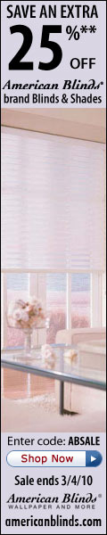 Check out American Blinds New Clearance Outlet!
