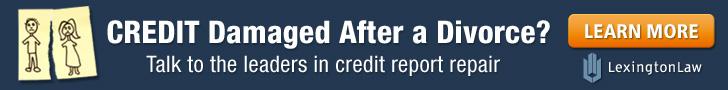 Credit Damage Divorce