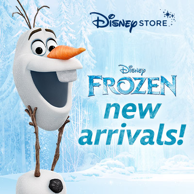 Frozen Favorites are Back at Disney Store!