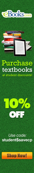 Student Discount 10% Off Promotion 120x600