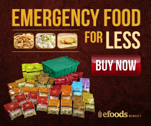 2 Month Emergency Food Supply from eFoodsDirect