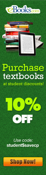 Student Discount 10% Off Promotion 160x600