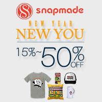 Snapmade 2016 New Year up to 50% OFF Deals- 200*200