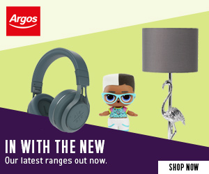 New Argos Catalogue Out now