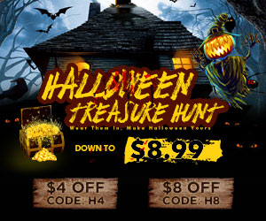 Down to $8.99 for Halloween Sales!
