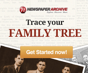 Newspaper Archive Family Tree