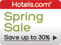 Spring Sale - Up to 30% off. Save some green on your spring vacation. Book by 3/31