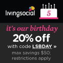 *HOT* 20% Off Living Social Code Valid Thru 7/27 ONLY!