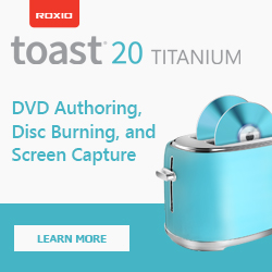 Get Toast Titanium Today!