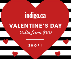 Valentine's Gifts From $20  at Indigo.ca!