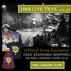 Pre-Order Live Trax 17 at the DMB Official Store!