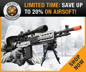 Save 20% on AirSoft