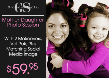 $59.95 Mother-Daughter Photo Shoot Session