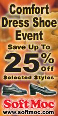 Softmoc.com - Comfort Dress Shoe Event