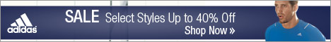 Save up to 40% at adidas