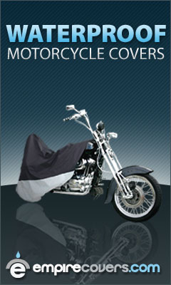 100% Waterproof Motorcycle Covers