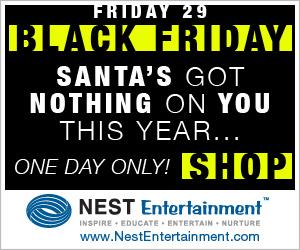 Black Friday Deals on NestEntertainment.com