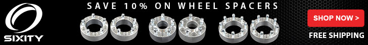 Wheel Spacers 10% - 728x90