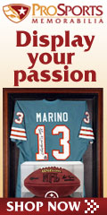 Get Your Sports Memorabilia at Pro Sports Today!