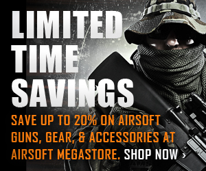 Airsoft Megastore - Limited Time Savings, Save Up to 20%