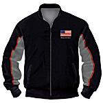 Veterans Salute Men's Jacket With Jody Bergsma Eagle Art