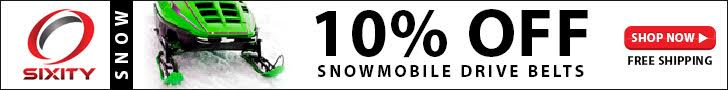 Save 10% on all Sixity Snowmobile Parts