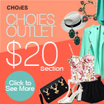 Choies Outlet $20 Section